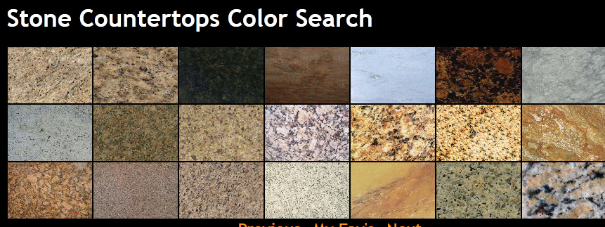 Countertop Stone Types : Granite Countertops Colors granitemakeover