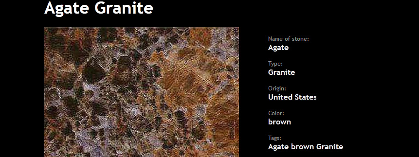 Granite Colors Detail